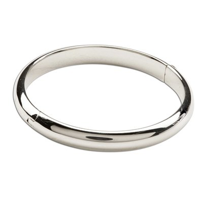 Cherished Moments Classic Sterling Silver Bangle