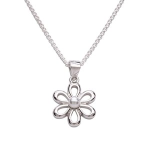 Cherished Moments Daisy Sterling Silver Necklace