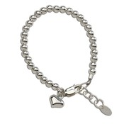 Cherished Moments Camry Sterling Silver Bracelet w/Heart