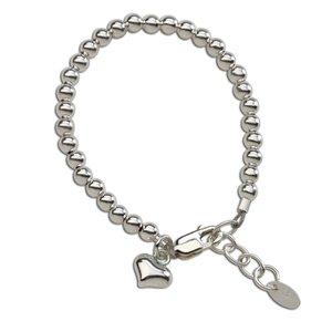 Cherished Moments Camry Sterling Silver Bracelet w/Heart