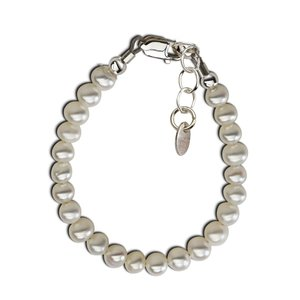 Cherished Moments Zoey Sterling Silver Pearl Bracelet