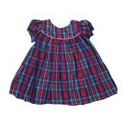 Lulu Bebe LLC Christmas Plaid Dress