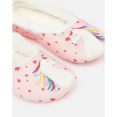 Pink Unicorn Character Slipper