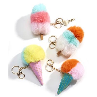 Fuzzy Keychain