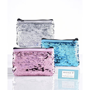 Giftcraft Inc. Sequin Coin Pouch (Assorted Colors)