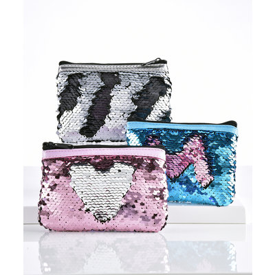 Sequin Coin Pouch (Assorted Colors)