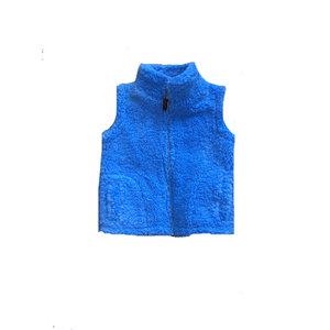 SouthBound Blue Sherpa Vest