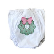 Lulu Bebe LLC Wreath Embroidered Bloomer