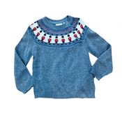 JoJo Maman Bebe London Fair Isle Sweater