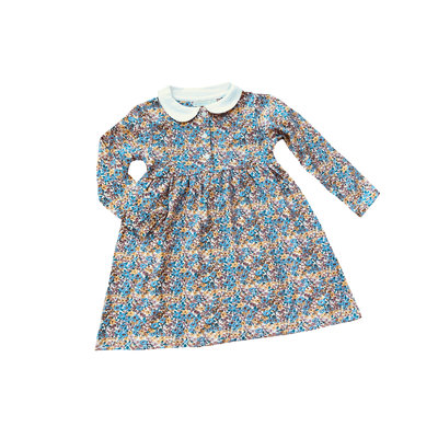 JoJo Maman Bebe Vintage Floral Peter Pan Dress