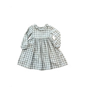 JoJo Maman Bebe Pretty Gingham Dress - Grey
