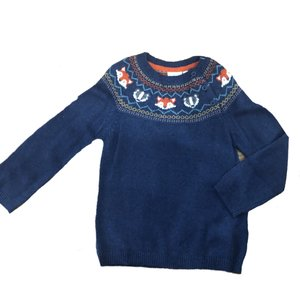 JoJo Maman Bebe Woodland Fair Isle Sweater