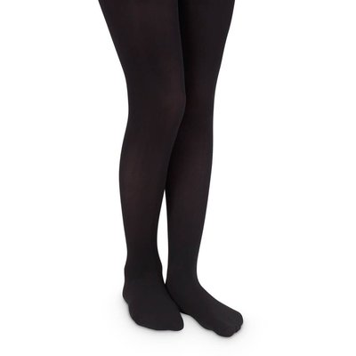 Jefferies Socks Black Pima Tights