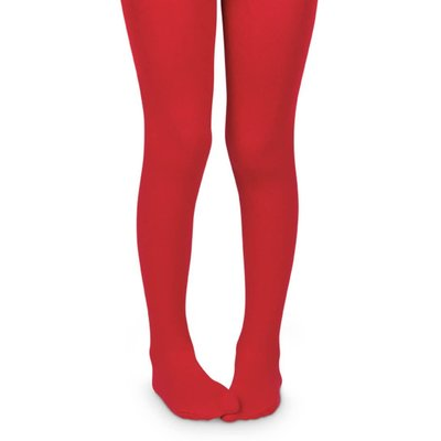 Jefferies Socks Red Pima Tights