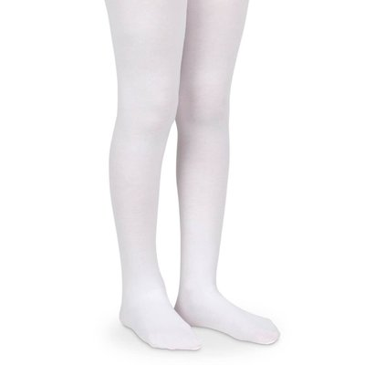 Jefferies Socks White Pima Tights