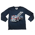 Wes and Willy Firetruck Long Sleeve T Midnight Blend