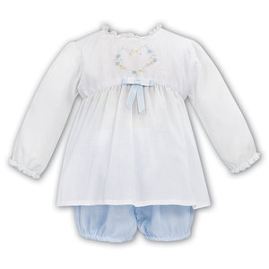 Sarah Louise White w/Blue Bloomer Set