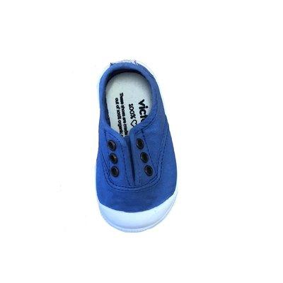 Victoria No Lace Anil Sneaker (Royal)