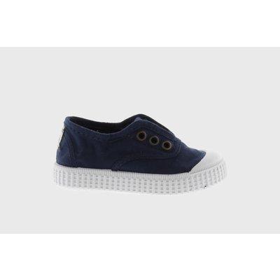 Victoria No Lace Sneaker Marino (Navy)