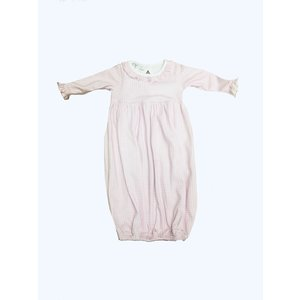 Magnolia Baby Mia and Ollie's Classic Ruffle Gathered Gown