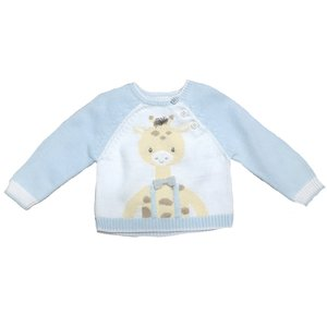 Zubels Boy Giraffe Sweater