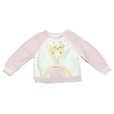 Zubels Girl Giraffe Sweater