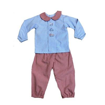 Baby Sen Red Rescue Pant Set