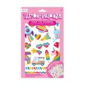 Ooly Tattoo Palooza Temporary Glitter Tattoo:Over the Rainbow