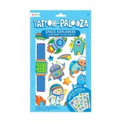 Ooly Tattoo Palooza Temporary Tattoos:Space Explorer