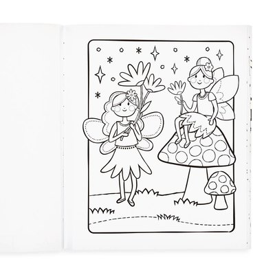 Ooly Color-in-Book- Princesses & Fairies