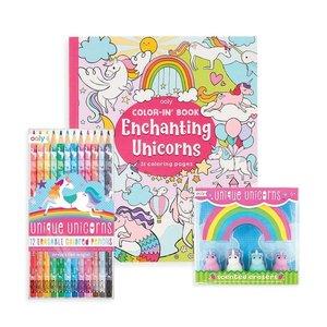 Ooly Unique Unicorn Erasbale Coloring Pack