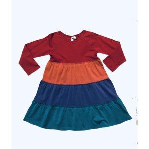 Globaltex Rainbow Twirl Dress