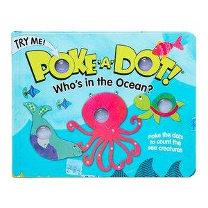 Melissa & Doug Poke-A-Dot Who's in the Ocean Book