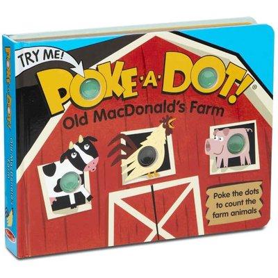 Melissa & Doug Poke-A-Dot Old MacDonald's Book