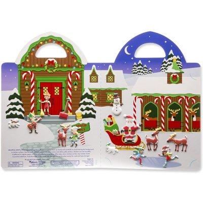 Melissa & Doug Puffy Stickers - Santa's Workshop