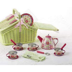 Sorrel Tin 18pc Tea Set