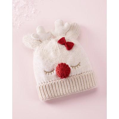 Giftcraft Inc. Reindeer Hat