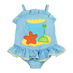 Bailey Boys Beach Fun 1PC Swimsuit w/Ruffle