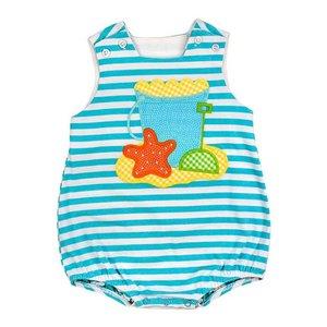 Bailey Boys Beach Fun Knit Infant Bubble