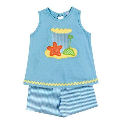 Bailey Boys Beach Fun Girl's Short Set