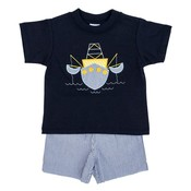 Bailey Boys Shrimp Boat Boy's Short Set