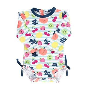 Ruffle Butts Fruit Fiesta 1PC Rash Guard