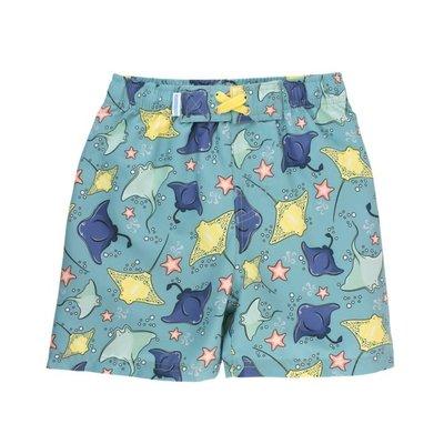 Rugged Butts Starfish & Stingrays Swim Trunks