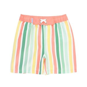 Rugged Butts Saltwater Stripes Swim Trunks