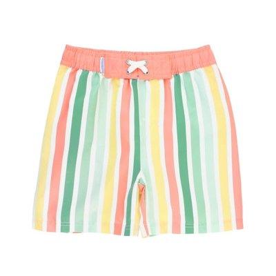 Rugged Butts Saltwater Stripes Swim Trunks