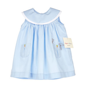 Sophie & Lucas Lazy Bunny Blue Dress