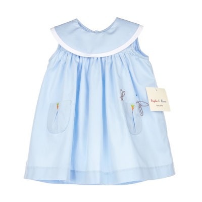 Sophie & Lucas Lazy Bunny Blue Dress