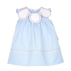 Sophie & Lucas Classic's Petal Blue Dress