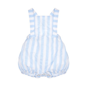 Sophie & Lucas Blue Sunny Stripe Boy Overall