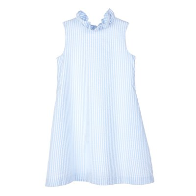 Gabby Blue Blair Lakeside Stripe Dress